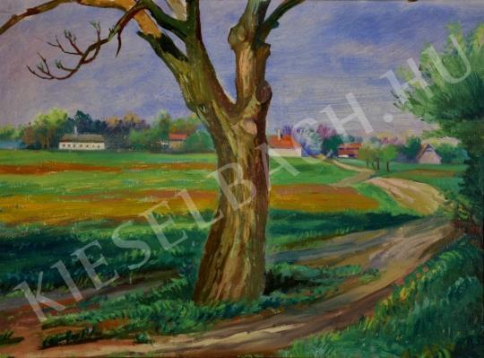 Eladó Tallós Prohászka István - Moson környéki táj festménye
