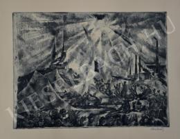 Aba-Novák Vilmos - Felsőbányai körmenet (1925)
