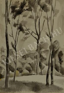 Patkó, Károly - Forest at Hidegpataka (1935)