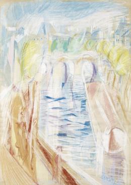 Halápy János - Párizsi Szajna-Part (1928)