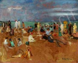 Basch, Andor - The French Beach (Cabourg) (1935)