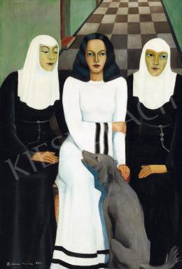 Kokas Klára - A fehérruhás hölgy (1932)