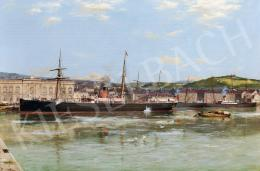 Greenwood, Parker - A greenwichi kikötő (1888)