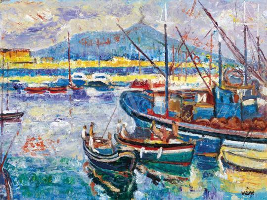 Vén Emil - Nápolyi kikötő | 42. Aukció aukció / 46. tétel