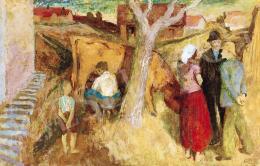 Szőnyi István - Zebegény (Sárga tehén)