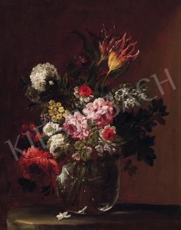 Ismeretlen festő - Virágcsendélet