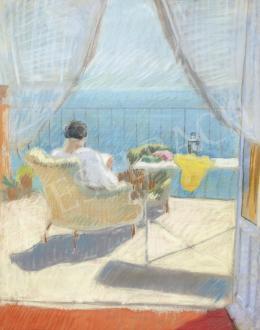Berény Róbert - Taormina (Teraszon)