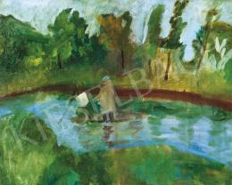 Ferenczy Károly - Festő szabadban