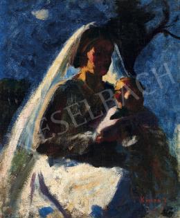 Koszta József - Anya gyermekével