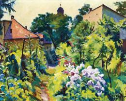 Ziffer, Sándor - The Artist's Garden in Nagybánya