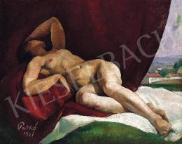 Patkó, Károly - Nude Lying
