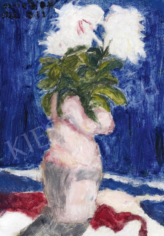 Csók István - Fehér virágok | 42. Aukció aukció / 129. tétel