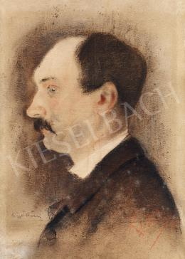 Rippl-Rónai József - Férfi portré