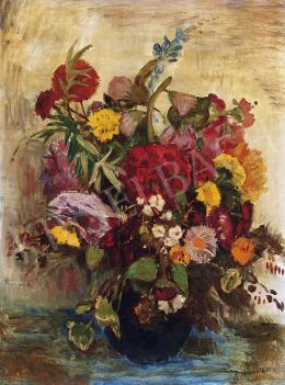 Iványi Grünwald Béla - Virágcsendélet