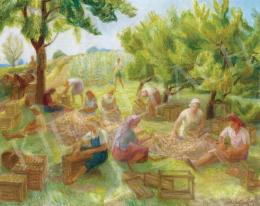 Szobotka, Imre - Grape Harvest
