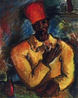 Peterdi Gábor - Sárga kabátos férfi