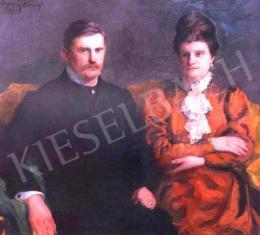Ferenczy Károly - Jánossy Béla és neje
