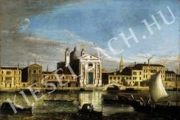 Ismeretlen festő - Velencei részlet (18. század vége)