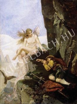 Ismeretlen festő - A vadász álma