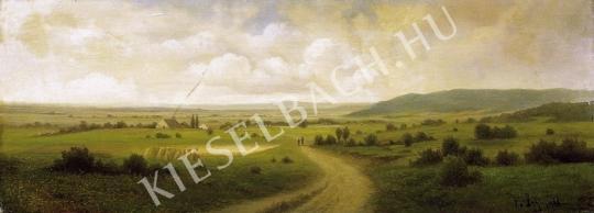 Ismeretlen festő - Osztrák tájkép festménye