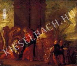 Ismeretlen festő - Jelenet (1700 körül)