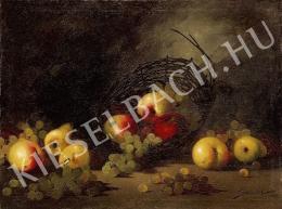 Ismeretlen festő - Almás csendélet (1920)