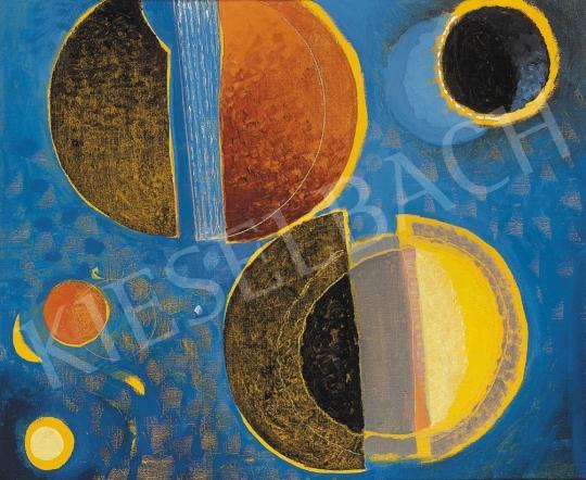 Gyarmathy, Tihamér - Blue cosmos | 17th Auction auction / 156 Item