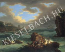 Ismeretlen festő - Tengeri jelenet (1804)