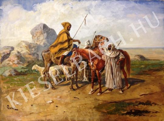 Ismeretlen festő - Keleti jelenet festménye