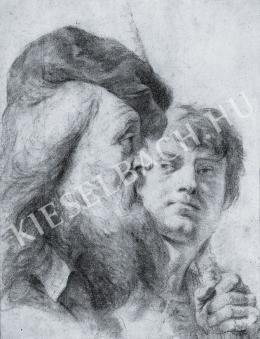 Ismeretlen festő - Két férfifej (1682)