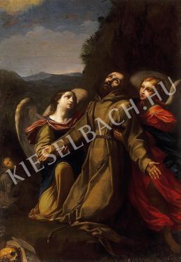 Ismeretlen festő - Szent Ferenc stigmatizációja (1700 körül)