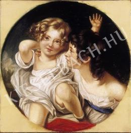 Ismeretlen festő - Testvérek (1874)
