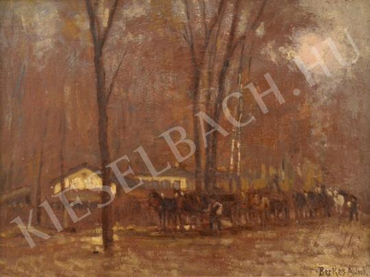 For sale  Berkes, Antal - Horses in the Forest 's painting