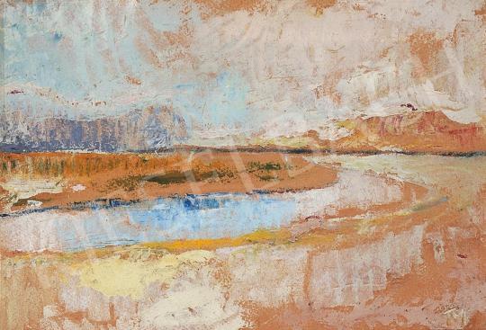 Tóth, Menyhért - Miske landscape | 17th Auction auction / 162 Item