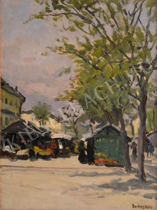 For sale  Berkes, Antal - Flower Market 's painting