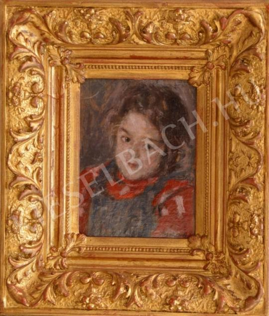 For sale  Berkes, Antal - Portrait of a Girl 's painting