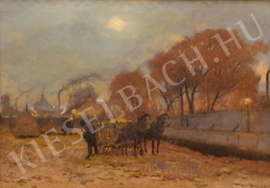 For sale  Berkes, Antal - Autumnal Works on the Fields 's painting