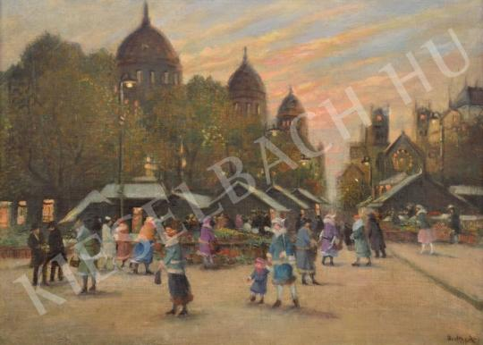 For sale  Berkes, Antal - Market under the Trees 's painting