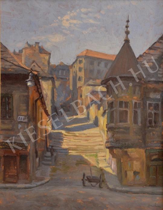 For sale Joachim, József (Csejtei) - Buda Street (Pala Street) 's painting