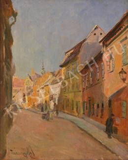 Turmayer, Sándor - Street from Buda