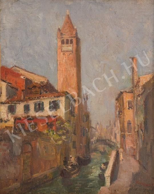 For sale Turmayer, Sándor - Campanile of Venice 's painting