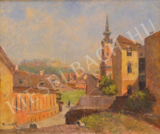 For sale Turmayer, Sándor - Tabán View with Orthodox Church and Buda Castle 's painting