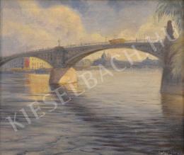 Antal Sándor - Margit-híd a Parlamenttel
