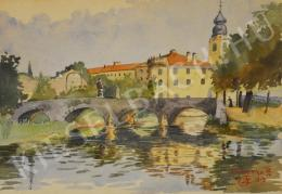 Unknown Hungarian painter - Cirkvenyica - Castle from Croatia