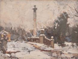 Csallóközi, Farkas Lőrinc - Calvary with Column