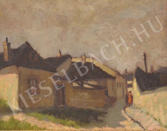 For sale Guzsik, Ödön - Little Street of Tabán 's painting