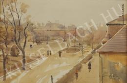 Dobroszláv Lajos - Utca (Őszi hangulat) (1948)