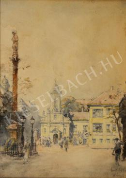 Háry Gyula - A Szent Rókus kápolna a Rákóczi úton