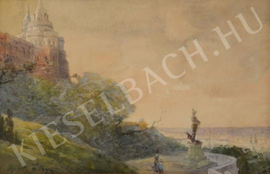 For sale  Háry, Gyula - Fishermen's Bastion at Buda Castle 's painting