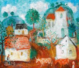 Pekáry, István - Fairy Tale Landscape (1957)